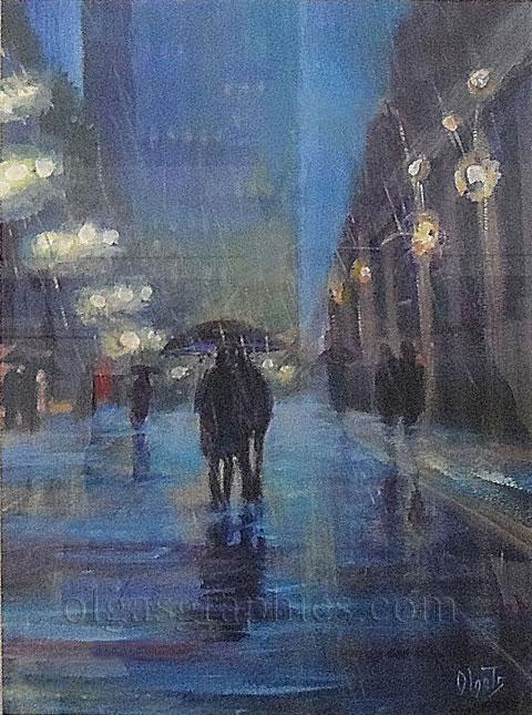 Manchester  Umbrella Weather  SOLD | Olgas Graphics